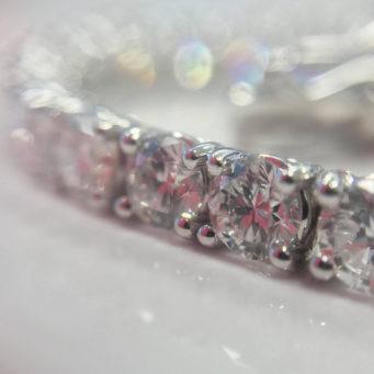 Diamond and white gold wedding rings from Michael Jones Jewellers in Northampton and Banbury