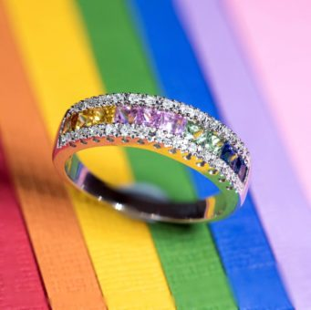 LGBT jewellery available from Steffans Jewellers in Northampton