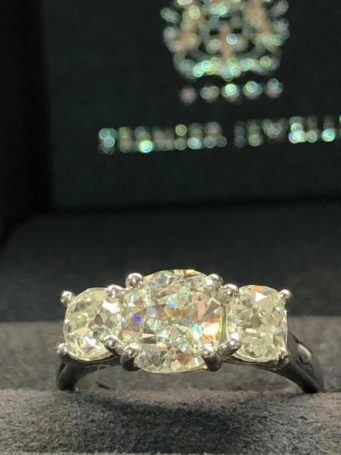 Diamond engagement rings available from Steffans Jewellers in Northampton