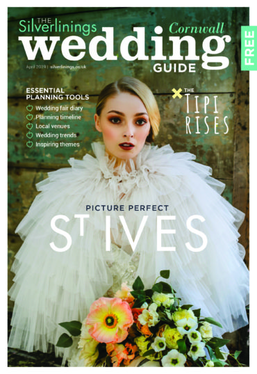 Front cover of Silverlinings Wedding magazine, spring 2019
