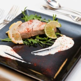 wedding food example at Kimbolton Castle