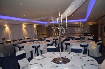 Rutland Suite at Kettering Park Hotel best up for a wedding breakfast