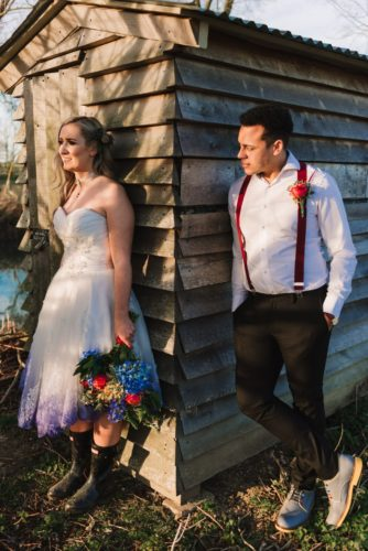 Wedding couple inspired by the Greatest Showman, photo by Gina Fernandes Photography