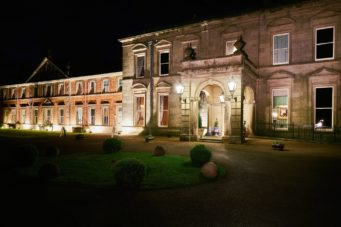 Kilworth House Hotel lit up at night