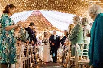 Polhawn Fort near Torpoint, spectacular castle wedding venue in Cornwall