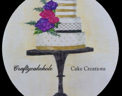 Craftycakehole business logo