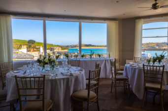 Padstow Harbour Hotel is a contemporary coastal wedding venue in Padstow, Cornwall
