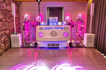 DJ Services Cornwall is a wedding DJ in Cornwall for all your audio and visual requirements