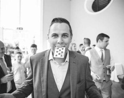 LB Magic is a wedding magician in Cornwall