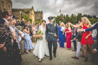 Pentillie Castle, a castle wedding venue in Cornwall, close to Plymouth