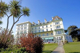 The Falmouth Hotel exterior, ideal Cornwall wedding venue