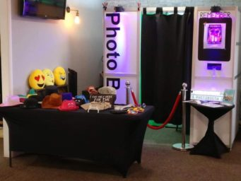 Wedding photo booth available to hire in Northamptonshire
