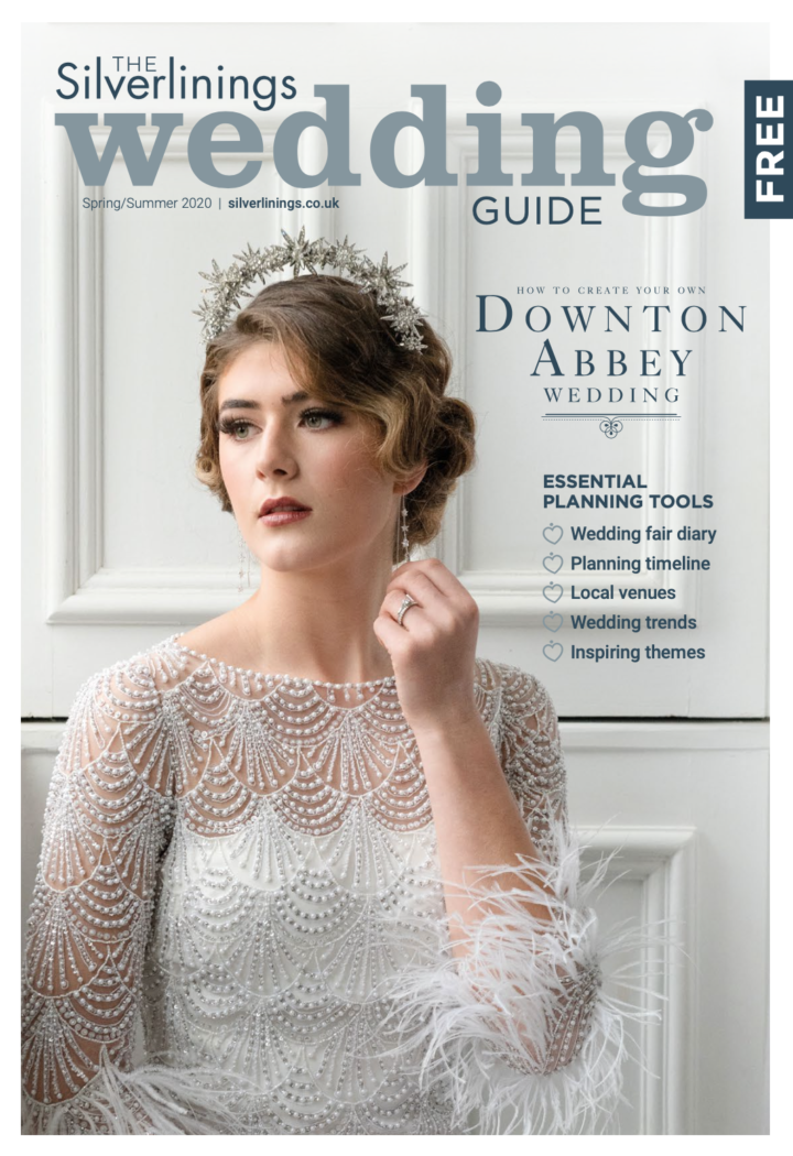 Front cover of the Silverlinings Wedding Guide magazine - Spring/Summer 2020