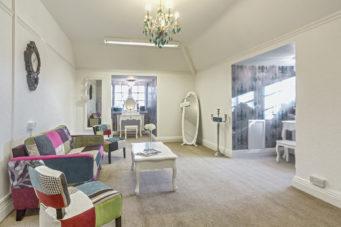 Bridal suite at Dunchurch Park Hotel wedding venue