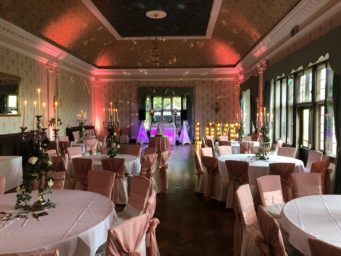 Great Hall at Dunchurch Park Hotel wedding venue