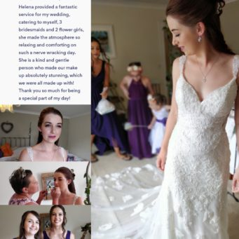 Portfolio and review of Your Beautiful Day makeup artist