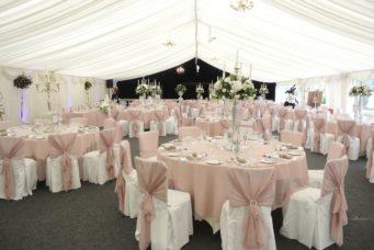 Marquee wedding at Dunchurch Park Hotel wedding venue