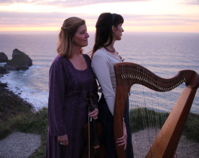 Wedding harpist and violin duo available for weddings
