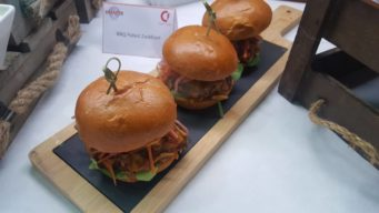 Wedding burgers provided by Keythorpe Wedding & Event Catering in Leicestershire