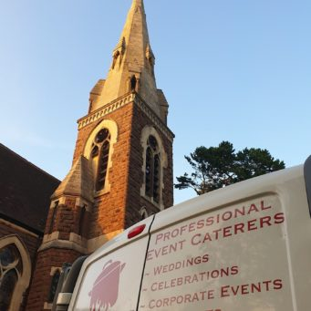 Hog roast in Leicester for wedding provided by Keythorpe Wedding Catering in Leicestershire