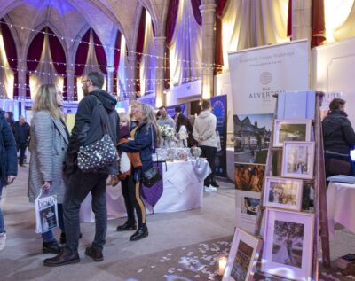 The Alverton Hotel wedding fair in Truro, Cornwall