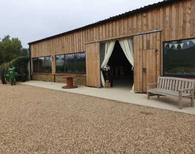 Wedding fair at Long Furlong Farm near Daventry, Northamptonshire