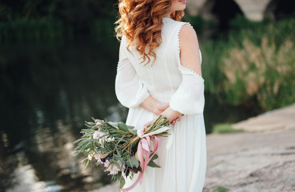 Sustainable wedding dress buying