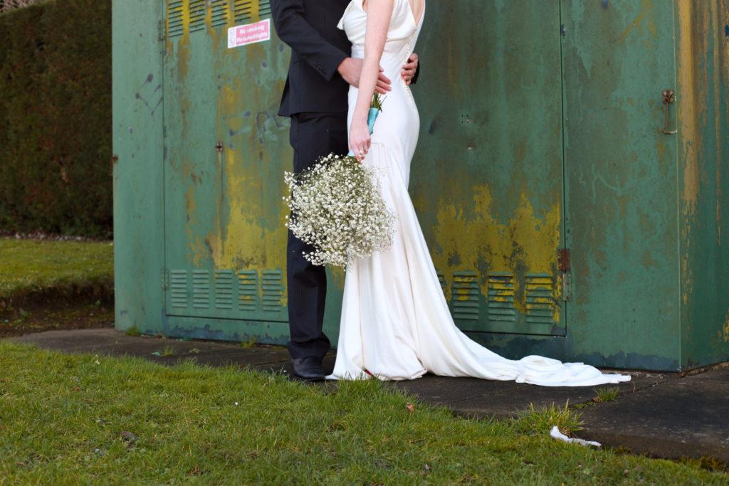 Eco friendly wedding dress designers, using sustainable fabrics and fastenings