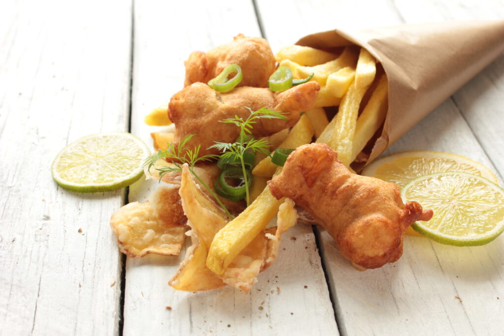 Alternative wedding catering - fish and chips or pub grub for your wedding catering