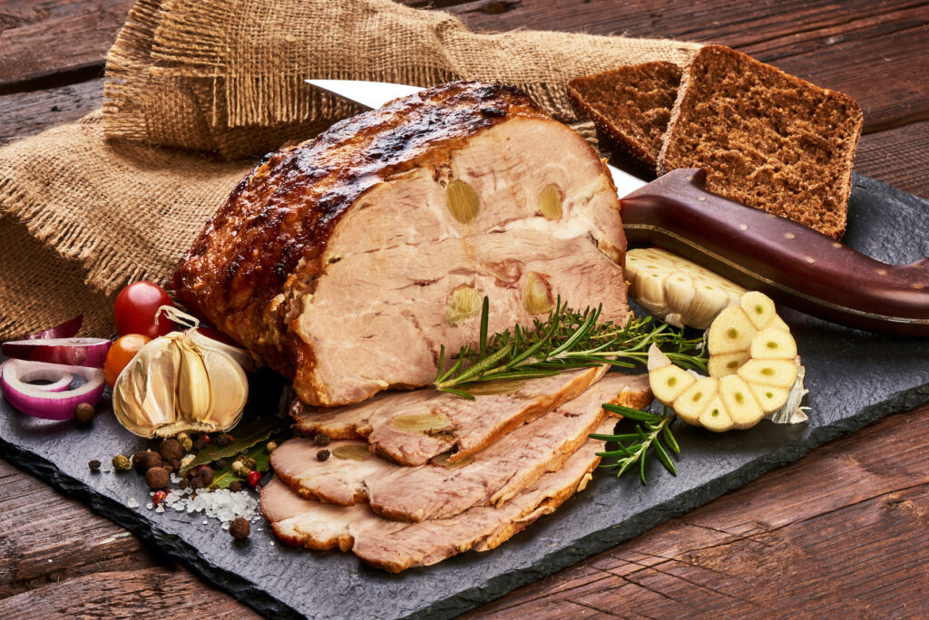 Alternative wedding catering - sharing platters and meat joints for your wedding catering
