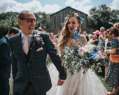 Vintage & Bloom supply wedding flowers across Cornwall from Falmouth
