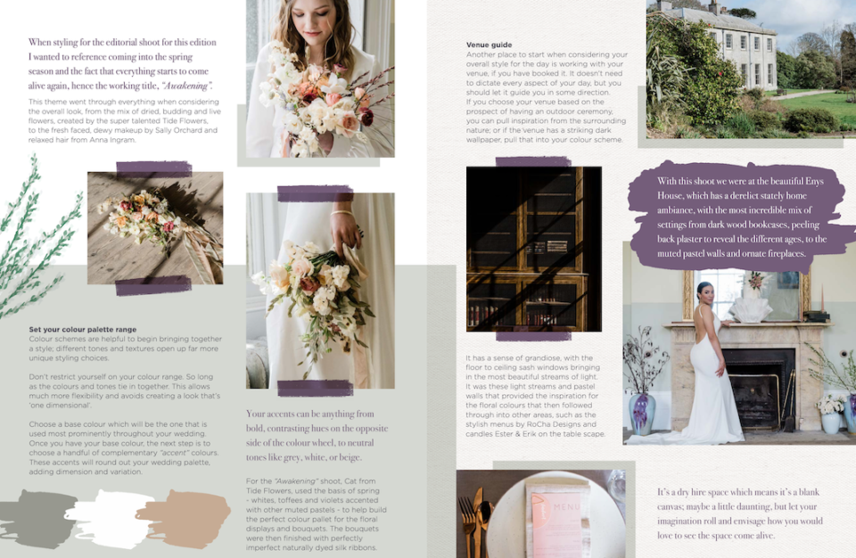 Wedding planning in Cornwall using the Silverlinings Wedding Guide
