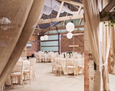 Kingsthorpe Lodge Barn wedding fair near Oundle, Peterborough