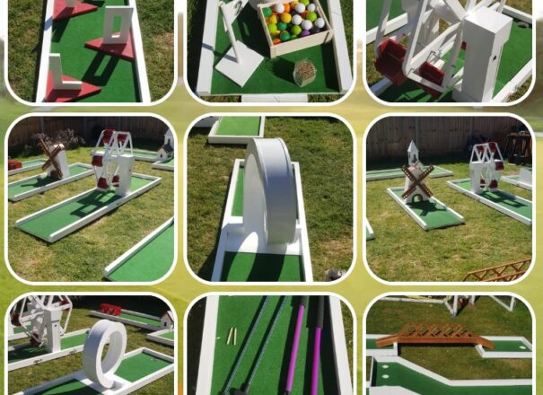 Crazy golf is the perfect alternative wedding entertainment, available across England and Wales