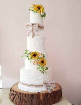 Amelia Rose Cake Studio is an award winning wedding cake designer in Northamptonshire