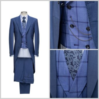 Saint Crispin Bespoke Menswear offers bespoke tailoring for mens wedding suits in Northampton