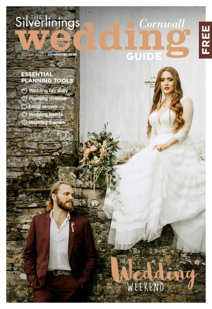 Silverlinings Cornwall Wedding Guide Autumn 2020 - ultimate wedding planning magazine