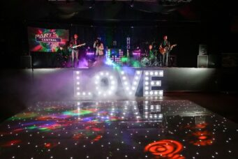 Party Central are a premium high-energy live wedding band with non-stop hits for the ultimate party vibe!