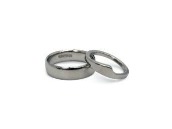 Cornish wedding jeweller Stephanie Stevens helps you to create your very own bespoke, personalised wedding rings in Cornwall