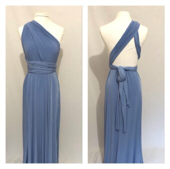Plus size and multiway bridesmaid dresses, made to order from ThePrettyInfinity