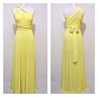 Lemon bridesmaid dress, made to order from ThePrettyInfinity