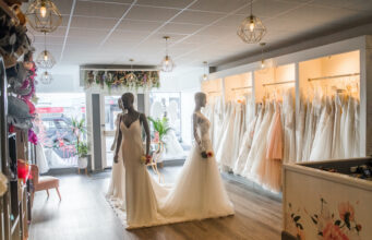 Award winning bridal shop in Helston, Cornwall, stockists for Pronovias, Wendy Makin and more