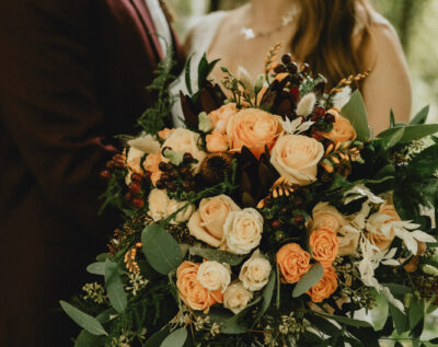Floribunda Cornwall is an independent rustic wedding florist in Padstow