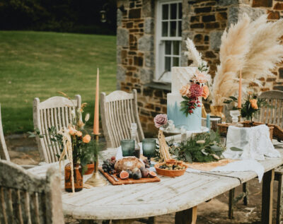 Wedding decor styling by Rebel & Anchor
