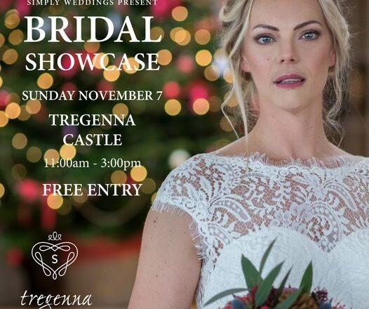 Tregenna Castle Resort winter wedding fair in St Ives, Cornwall
