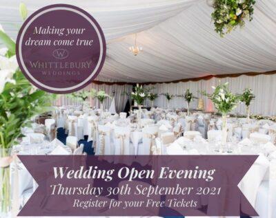 Whitllebury Hall wedding fair and open evening